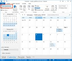 Appointment Calander Create An Appointment In Outlook 2013 Information Services