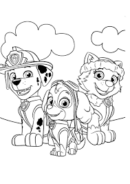 You can give them the original colors of the characters and let your coloringonly has got big collection of printable paw patrol coloring sheet for free to download, print and color in your free time. Paw Patrol Coloring Pages 120 Pictures Free Printable