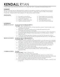 Customer Service Representative Resume Example Adorable Sample Resume For Call Center Customer Service Representative Call