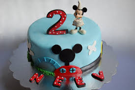 Customised Cakes By Jen Mickey And Friends Cake