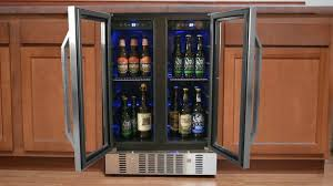 Beer Bottle Vending Machine Enchanting How To Make A Beer Refrigerator Fit With Your Decor NewAir