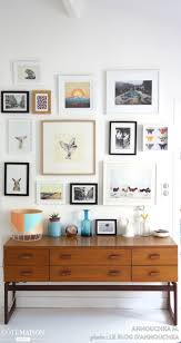 gallery walls are great for smaller areas or hallways.