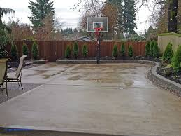 backyard concrete ideas awesome backyard sealing stamped concrete patio outdoor excellent