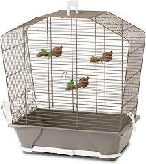 Savic Camille 30 Bird Cage 45x25x48cm: Amazon.co.uk: Pet Supplies