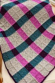 Best 25+ Granny square blanket ideas on Pinterest | Crochet square ... & Mrs Flowerpot: Magenta Tartan Blanket - free granny squares crochet pattern  by Clair Louise Coult Adamdwight.com