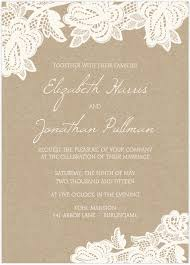Lace Wedding Invites Vertabox Com