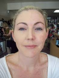 try merle norman lori doesn t have any concealer on just foundation and powder