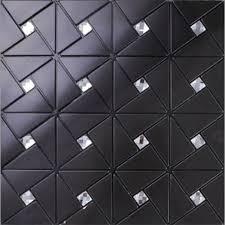 black alucobond tile self adhesive aluminum composite crystal glass diamond mosaic bravotti com