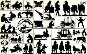 favorite collection of steel silhouette cowboy western lifestyle home decor