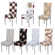 chair covers for home. Universal Removable Stretch Elastic Modern Minimalist Slipcovers Home Style Cotton Chair Covers Hotel Banquet Seat -in Cover From For