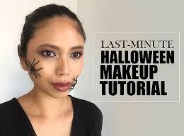 last minute makeup spider inspired tutorial hero