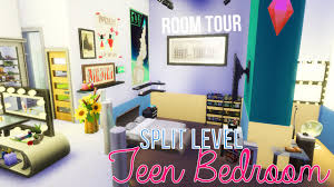 For Teenage Bedrooms The Sims 4 My Dream Teen Bedroom No Cc Youtube
