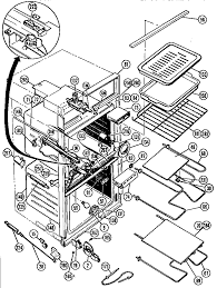 thermador cmt21 combination oven timer stove clocks and cmt21 combination oven body and accessory parts diagram