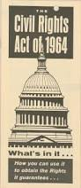 civil rights act of research papers on the issues of equality  civil rights act of 1964