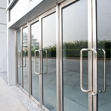 front glass doors