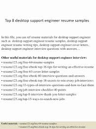 It Support Engineer Sample Resume Adorable Download New Desktop Engineer Sample Resume B40online