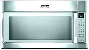 maytag countertop microwave maytag fingerprint resistant countertop microwave