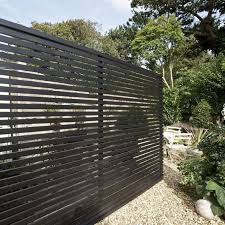 privacy fence design. A Black Wooden Fence Can Make Stylish Statement In Your Backyard Privacy Design