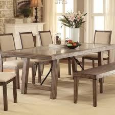 dubas industrial dining table