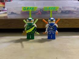 Lego Ninjago Minifigurines Diji Suits season 10, Toys & Games, Bricks &  Figurines on Carousell