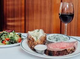 I served prime rib and the richest potato gratin ever last christmas. Prime Time 9 Restaurants For Prime Rib Dinners To Remember