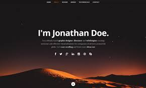 simple resume website 20 best free html resume templates by trendy theme