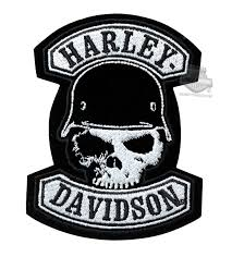 barnett harley davidson patches