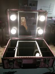 makeup vanity with led lights. 2016 new type make up vanity box case with led lights beauty kit gift set mirror storage 2 yellow or white light-in cosmetic bags \u0026 cases from makeup led t