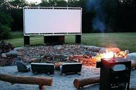 outside tv projector screens best outdoor