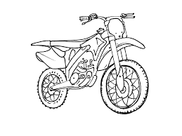 Dessins Coloriage Moto Cross Imprimer Voir Le Dessin Quad Design