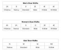 Shoe Width Chart Explained 15 Memorable Shoe Width Chart Explained
