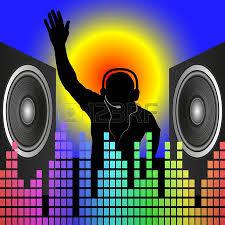 dj speakers clipart. dj speakers: dj silhouette and speakers clipart u