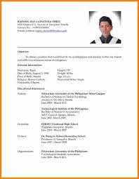 Latest Resume Format Sample The Latest Resume Format 166473498 Png
