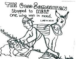Luxury The Good Samaritan Coloring Page And Good Coloring Pages The