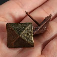 decorative studs for furniture. 50Pcs Decorative Tachas Upholstery Tacks Bronze Antique Square Nail Studs Leather Furniture DIY Tools Home Decoration-in From For