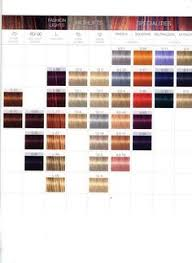 Age Beautiful Permanent Color Chart 46 Best Hair Dye Swatches Charts Images Hair Color
