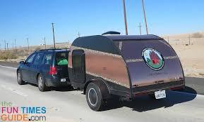rv camper al a teardrop trailer