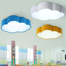 childrens room lighting. 2017 Led Cloud Kids Room Lighting Children Ceiling Lamp Baby With Regard To Childrens Light Fixtures