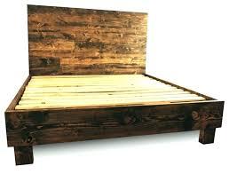 California King Platform Beds King Platform Bed Frame Cal King ...