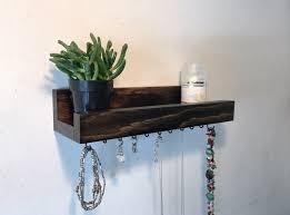 Jewelry Holder Wall Small Jewelry Shelf Treetop Woodworks