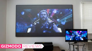Hisense\u0027s Absurd 100-Inch Laser TV Turned Me Into a Big Screen Believer Hisense Ultra HD Review: Opulence Means Lasers
