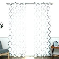 moroccan trellis curtain curtain