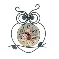 oem shabby chic wall clock art