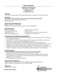 Sample Resume For Customer Service Entire Representation Associate