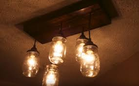 mason jar chandelier how to make a diy mason jar chandelier see more at