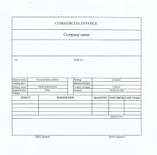 Commercial Invoice Commercial Invoice The Necessary Shipping Documents Pro China