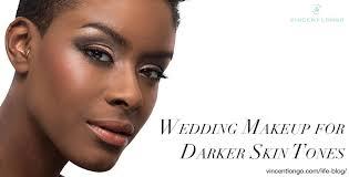 wedding makeup for darker skin tones
