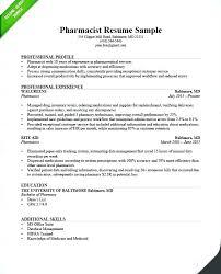 Resume Objective Tips Hospital Pharmacist Resume Sample Hospital Pharmacist Resume 91