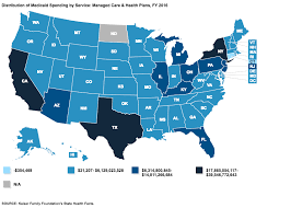 Medicaid Chart Income 2016 Where Does All Of Medicaids Money Go An Explainer