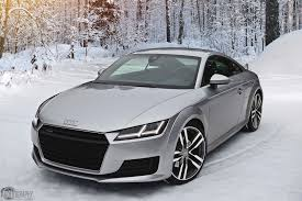2015 Audi TT Is The Perfect Snow Angel | Carscoops